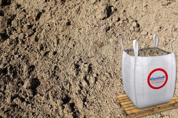 Mutterboden gesiebt - im Big Bag