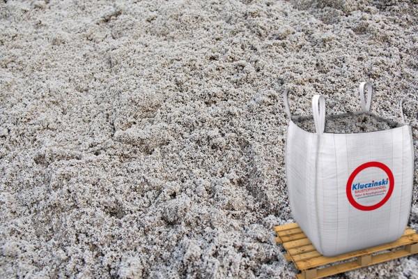 Sand gewaschen 0-2 mm - im Big Bag