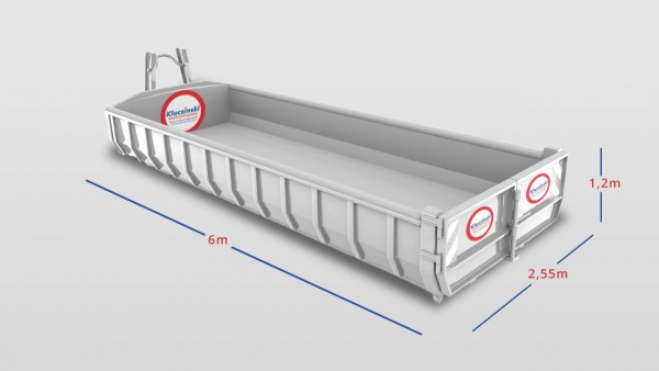 Abrollcontainer 10m³ - Boden Z 0 (ohne Analysen) -mit mehr als 10 % Fremdanteil